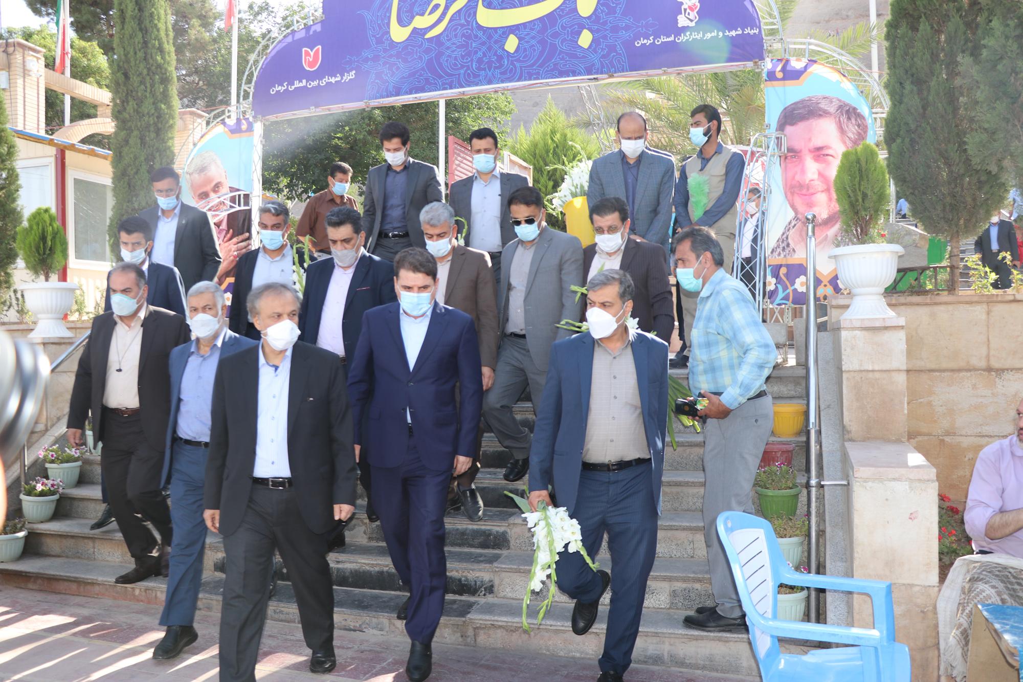 سفرمهندس رزم حسینی وزیر صمت به استان کرمان در تاریخ 1400/03/21